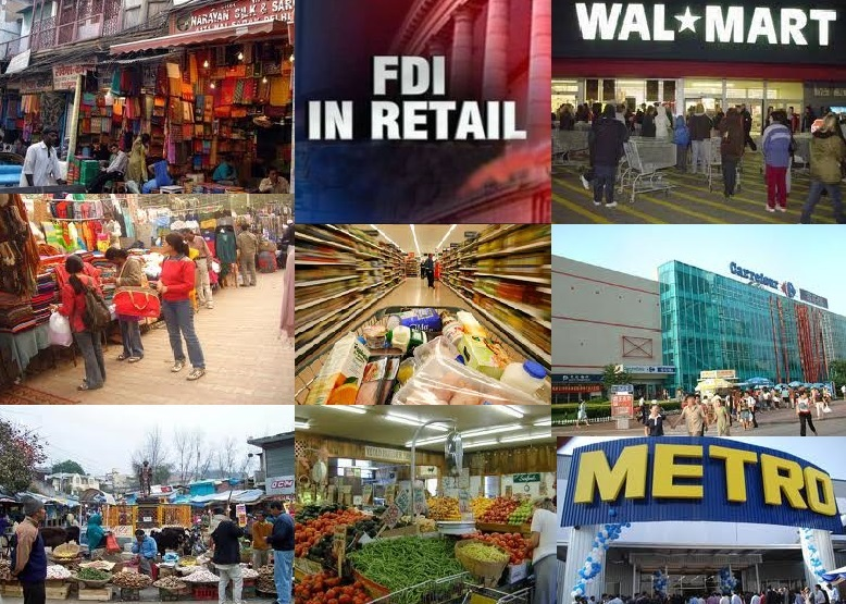 literature review fdi in retail