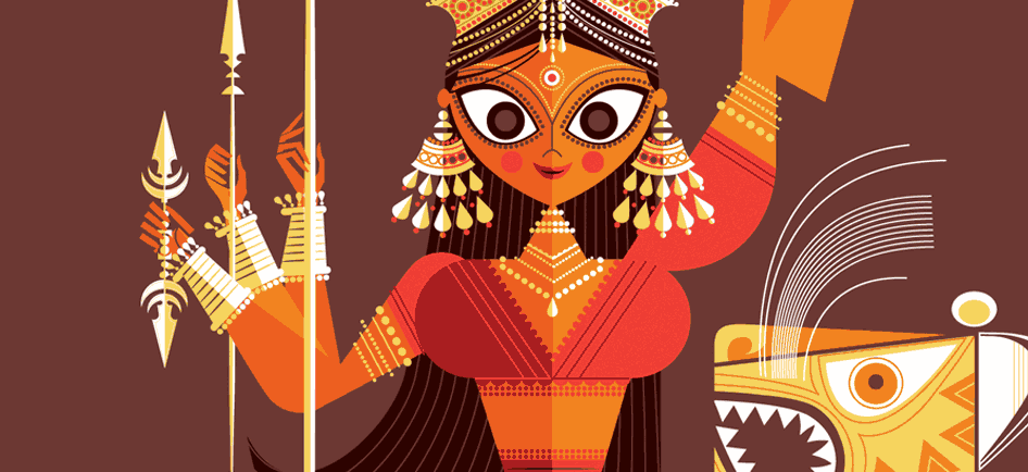 Alive Character Design Book : Art divine sacred hindu history in pop style