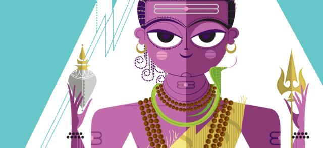 Shiva - The destroyer among the Hindu God Trinity