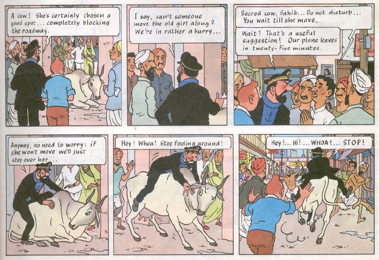 Tintin Comics French #Tintin in Tibet: #Her...