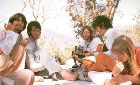 Beatles at rishikesh2