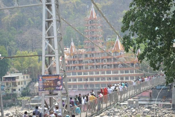 Lakshman Jhula - Suspension Bridge