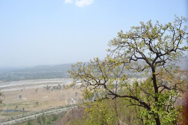 Haridwar from a distance