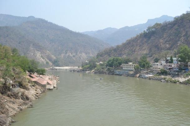 Much Cleaner Ganga at Rishikesh