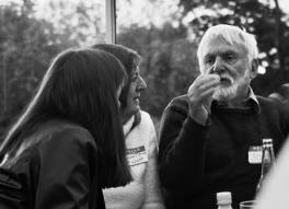 Rare Pirsig photograph taken by David Buchanan in Wales (July, 2005)