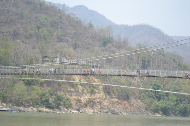 Ram Jhula Suspension Bridge