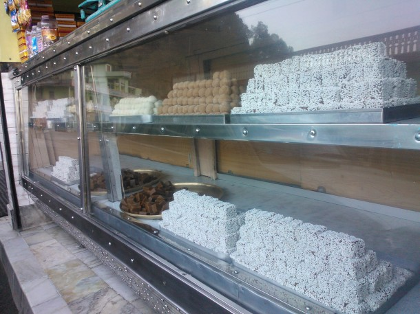 A sweet shop in Almorah