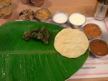Andhra Thali at Bheema's :  Bangalore