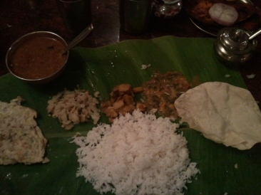 A simple Veg meal at Punnuswami - Chennai : For non-veg delight this restaurant is the best in Chennai...