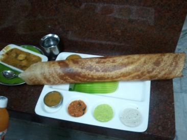 Crispy Dosa at Murugan's - Chennai
