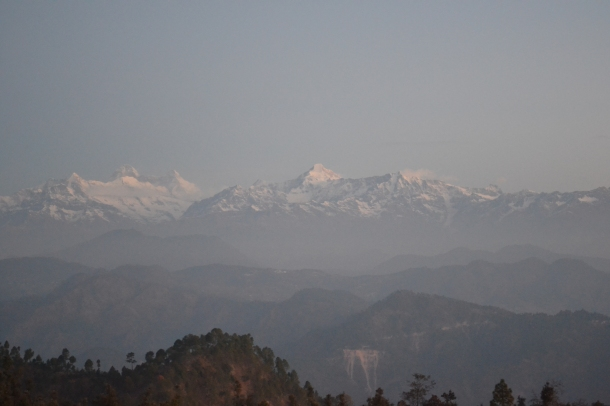 The night is over, the sun is around the corner - Pithoragarh, Uttarakhand