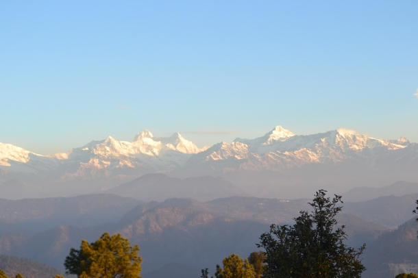 The mountain peaks in all their glory - Pithoragarh, Uttarakhand