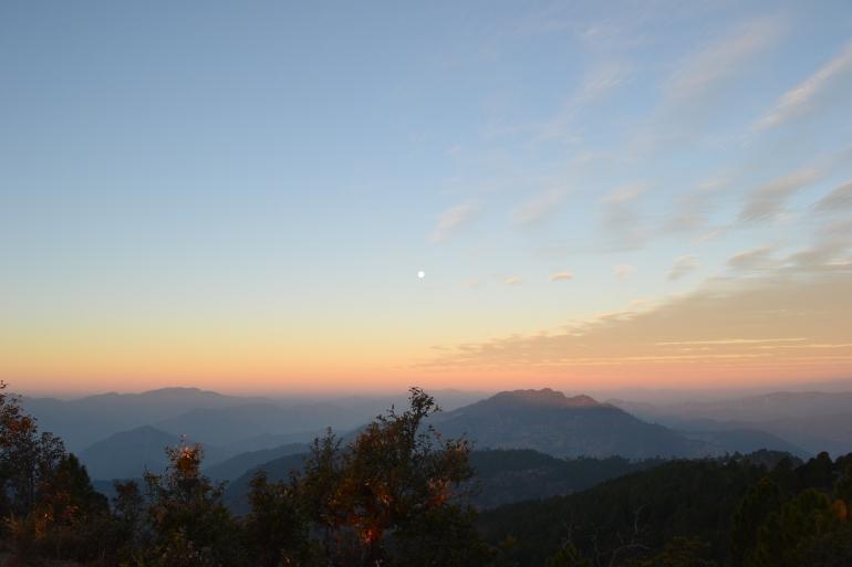 Colors of the sky (Nikon DSLR D3100), Pithoragarh, Uttarakhand