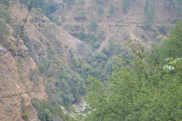 Mountain River (Nikon DSLR D3100), Pithoragarh, Uttarakhand