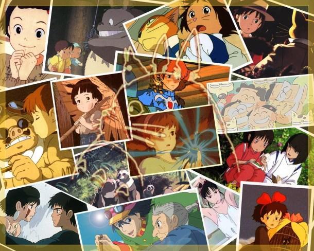 Films from Ghibli Studio