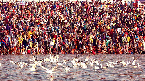 Kumbh Snan 14th Jan 2013 Allahabad