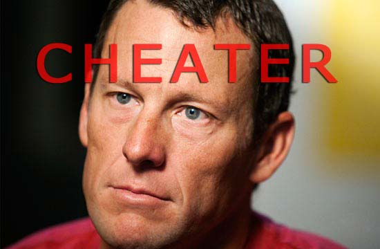 Lance Armstrong Cheater
