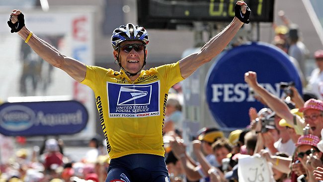 Tour De France Lance Armstrong Record