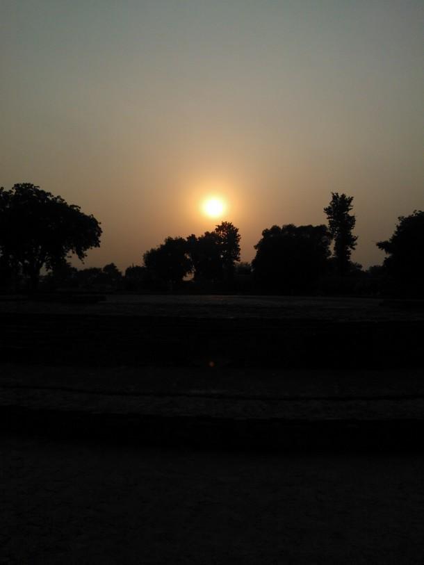 Sunrise Near Kashi