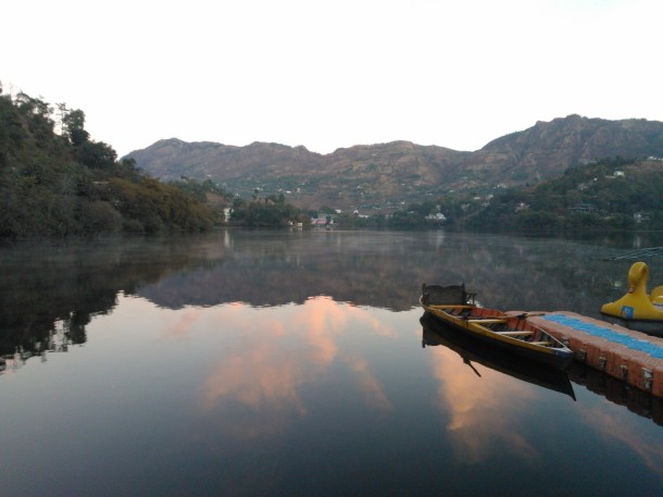 Naukuchiatal Lake @ 6:30am on 01/01/2013, Nainital, Uttarakhand