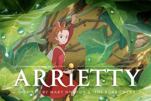 The secret world of Arrietty - Anime movie from Ghilbi Studio