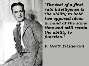 #DailyBookQuote 1May13 : F Scott Fitzgerald's The Great Gatsby