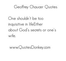 Geoffery Chaucer