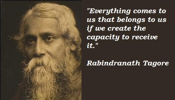 Rabindra Nath Tagore1