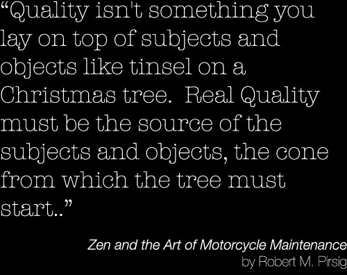 ... : Robert M. Pirsig's Zen and the Art of Motorcycle Maintenance