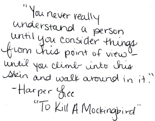 Harper Lee to Kill a Mockingbird Quotes