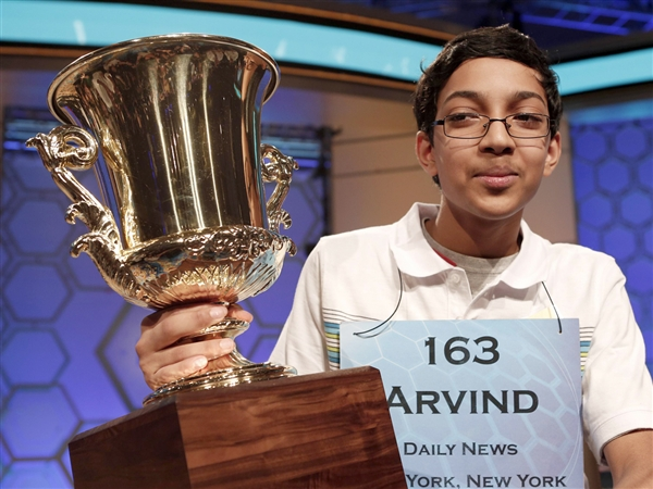 Arvind Mahankali - Winner of Spelling Bee 2013