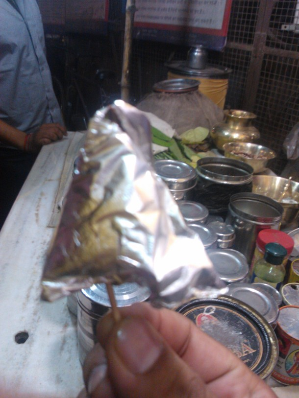 The famous Benarasi Paan