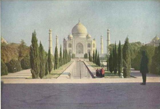 1921 Taj Mahal, India
