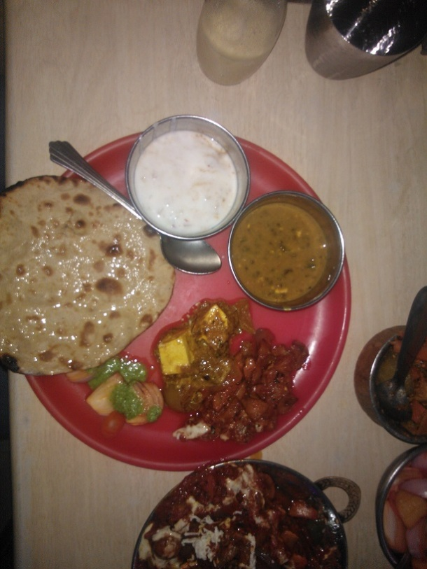 Delicious Punjabi food in Patiala