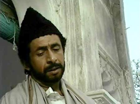 Actor 'Naseeruddin Shah' playing  Mirza Ghalib