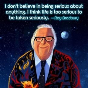 #DailyBookQuote 30Jul13 : Ray Bradbury's The MartialChronicles