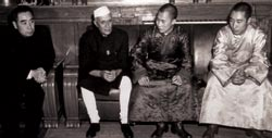 1954 India and China sign Panchsheel Treaty of Friendship