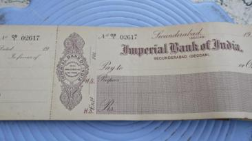 1955 India largest Bank, Imperial Bank of india becomes State Bank of India