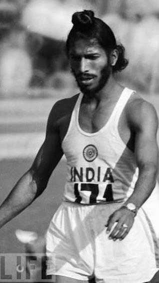 1958 Milkha Singh wins two gold medals at Asian Games in Japan