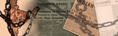 1975 Emergency declared in India by Indira Gandhi