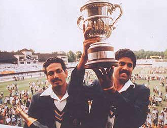 1983 India wins cricket world cup