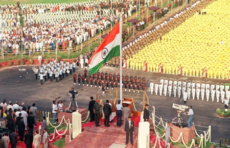 2000 Resergent India of 21st Century - Prime Minister Atal Bihar Vajpai at Red Fort