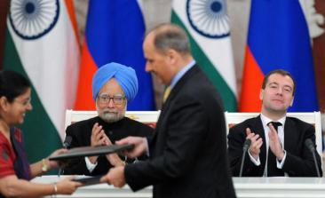 2010 India - Russia signs a nuclear reactor deal which will see Russia build 16 nuclear reactors in India.