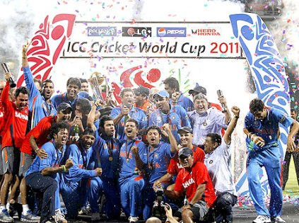2011 India Cricket World Cup Win - once again after decades