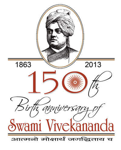 2013 India celebrates Swami Vivekananda's 150th birthday
