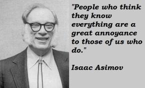 #DailyBookQuote 19Aug13 : Isaac Asimov's I,Robot