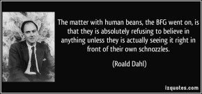 #DailyBookQuote 2Aug13 : Roald Dahl's TheBFG