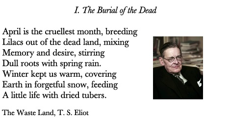 TS Eliot The waste land