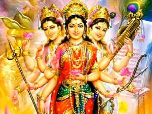 Hindu Trinity Female