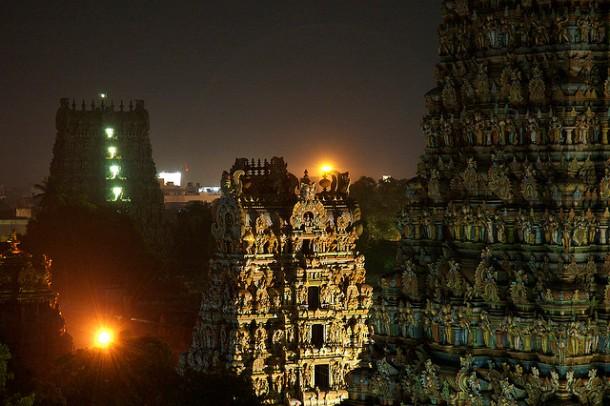 Meenakshi Temple Complex Madurai